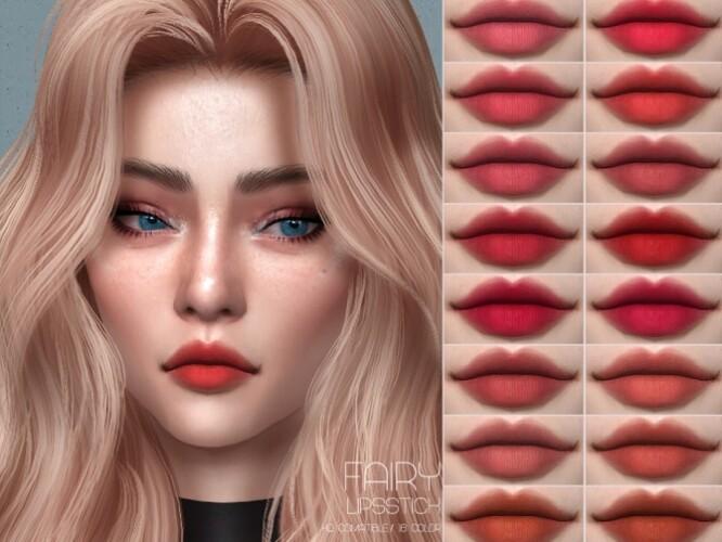 Fairy Lipstick HQ by Lisaminicatsims