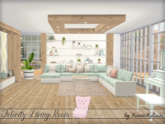 Felicity Living Room by ArwenKaboom