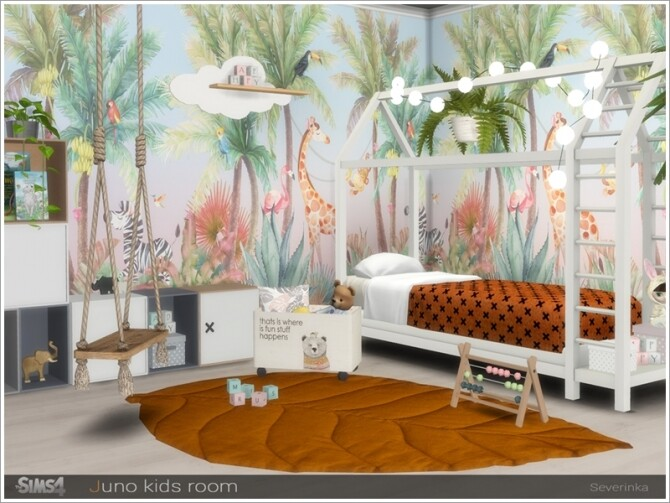 Juno kidsroom by Severinka at TSR image 766 670x503 Sims 4 Updates