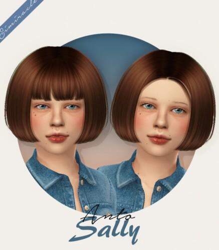 Anto Sally Hair Kids Version