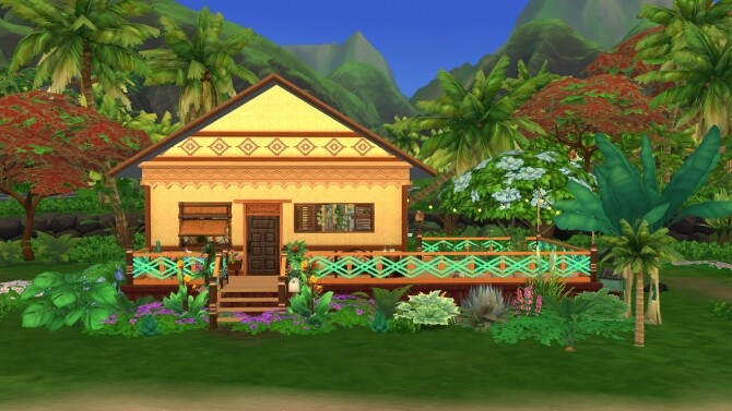 Sims 4 Tangled Flat Home Makeover by maddiexz3 at Mod The Sims