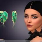 Frond Earrings by feyona