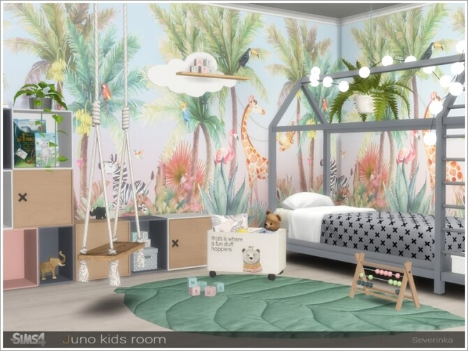 Juno kidsroom by Severinka at TSR image 776 670x503 Sims 4 Updates