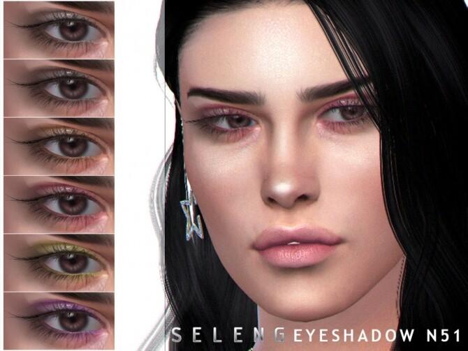 Sims 4 Eyeshadow N51 by Seleng at TSR