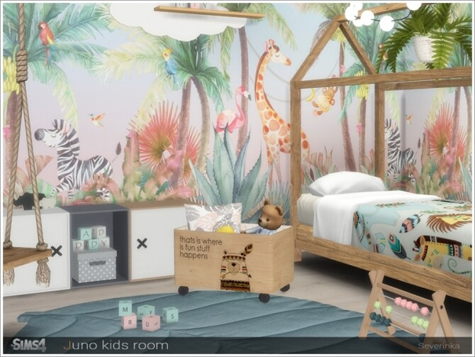 Juno kidsroom by Severinka at TSR image 786 670x503 Sims 4 Updates