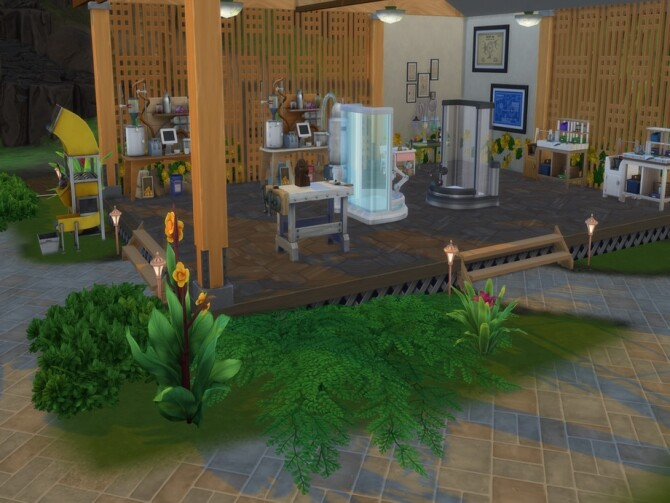 Sulani Maker Space by LJaneP6 at TSR image 790 670x503 Sims 4 Updates