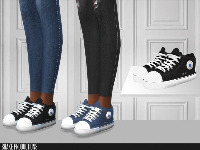 Sims 4 455 Sneakers by ShakeProductions at TSR