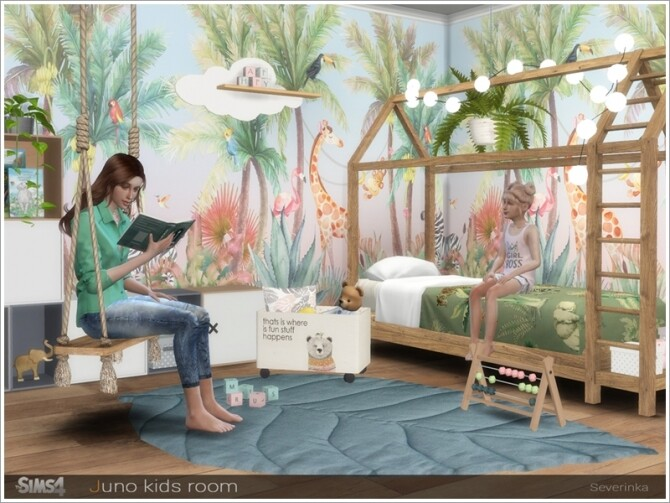 Juno kidsroom by Severinka at TSR image 797 670x503 Sims 4 Updates