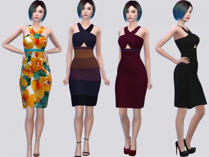 Sims 4 Audrina Dress by McLayneSims at TSR