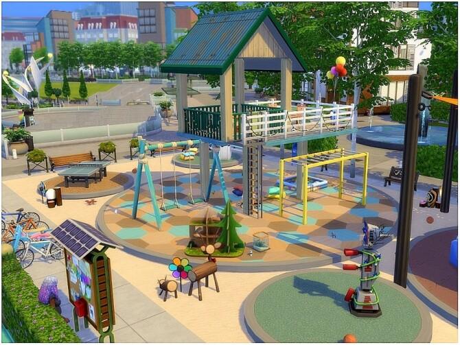 Sims 4 Kids Maze Park by lotsbymanal at TSR