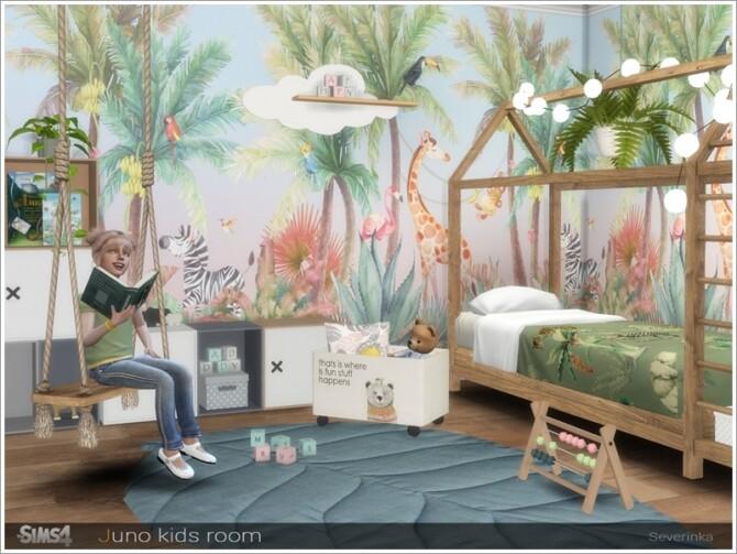 Sims 4 Juno kidsroom by Severinka at TSR