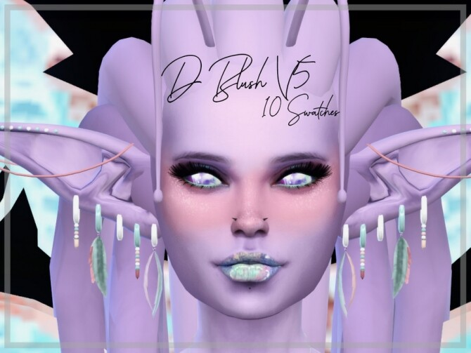 D Blush V5 by Reevaly at TSR image 8100 670x503 Sims 4 Updates