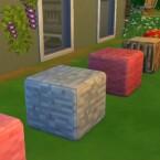 Minecraft Block Pouf by jessiuss