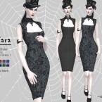 Midi Dress by Helsoseira