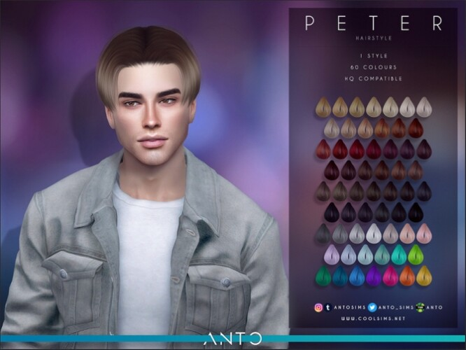 Peter Hairstyle by Anto