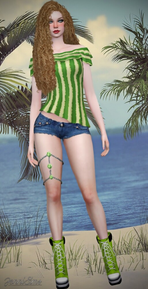 TOP BASE GAME COMPATIBLE at Jenni Sims image 813 514x1000 Sims 4 Updates