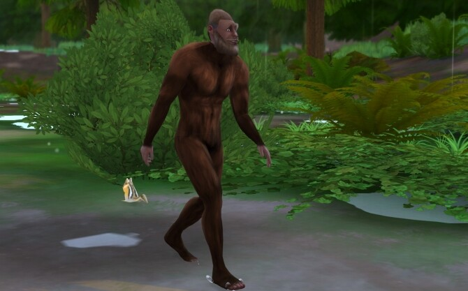 Bigfoot Head and Body by tklarenbeek at Mod The Sims image 8218 670x417 Sims 4 Updates