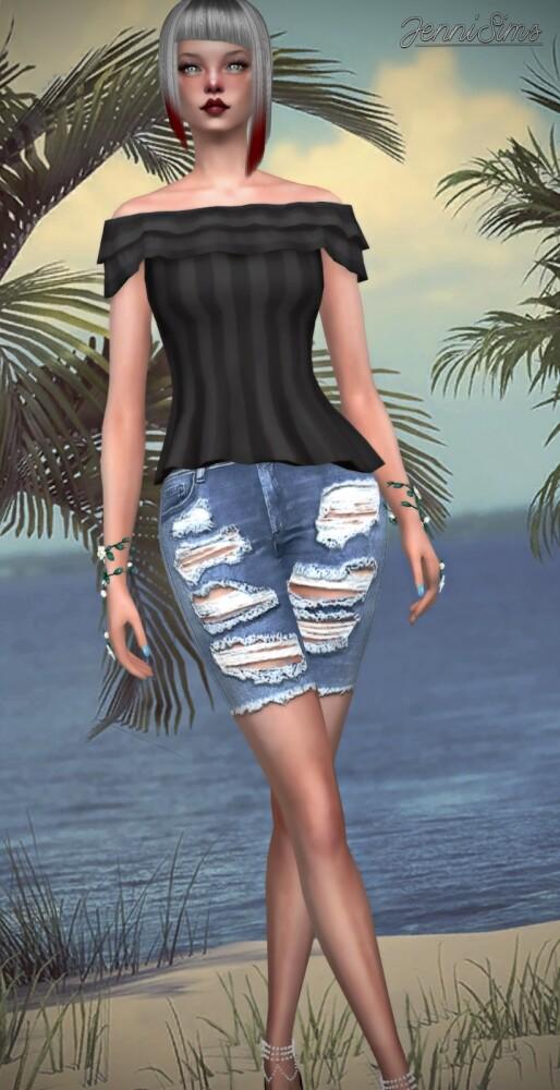 TOP BASE GAME COMPATIBLE at Jenni Sims image 822 514x1000 Sims 4 Updates