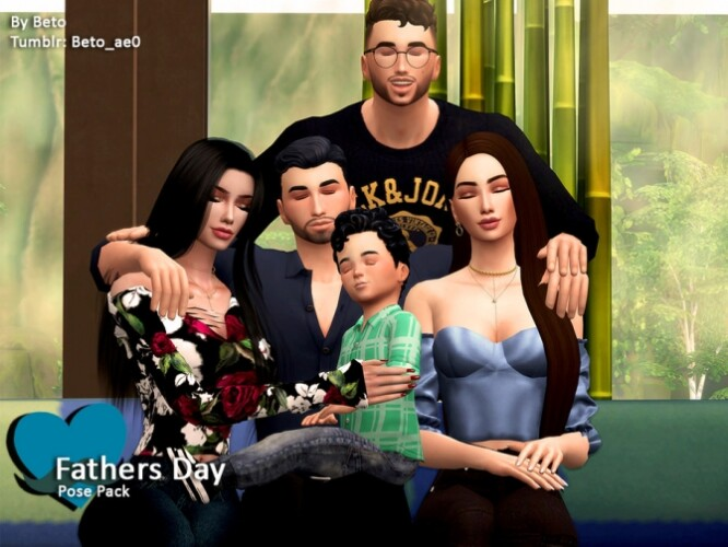 Fathers Day Pose Pack by Beto_ae0
