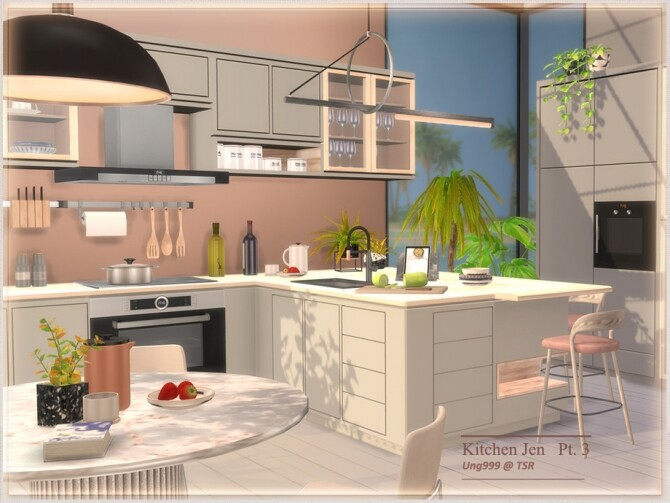 Sims 4 Kitchen Jen Part 3 by ung999 at TSR