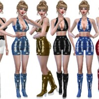 Denim short outfit by TrudieOpp