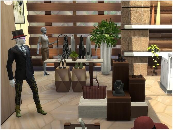 JF Fashion modern clothing store by lotsbymanal at TSR image 840 670x503 Sims 4 Updates