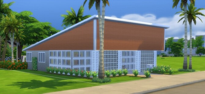 The Sun Valley Mid Century Modern Home by DominoPunkyHeart at Mod The Sims image 845 670x308 Sims 4 Updates