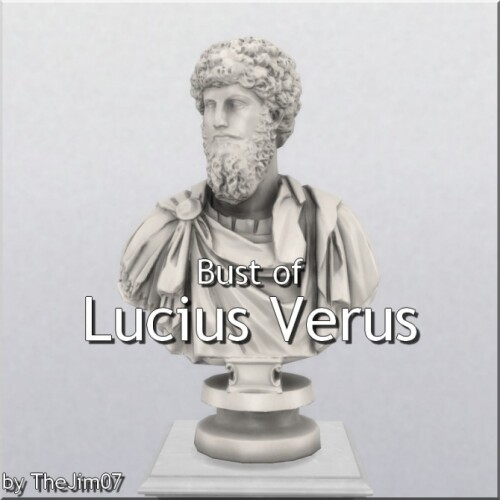 Bust of Lucius Verus by TheJim07