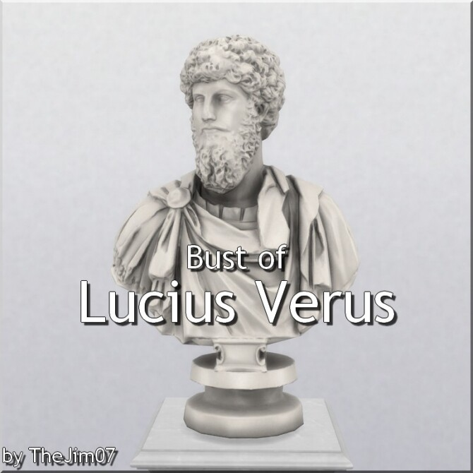 Bust of Lucius Verus by TheJim07 at Mod The Sims image 8521 670x670 Sims 4 Updates