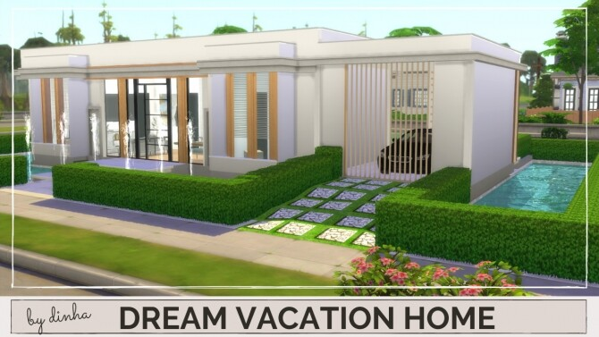 DREAM VACATION HOME at Dinha Gamer image 8524 670x377 Sims 4 Updates