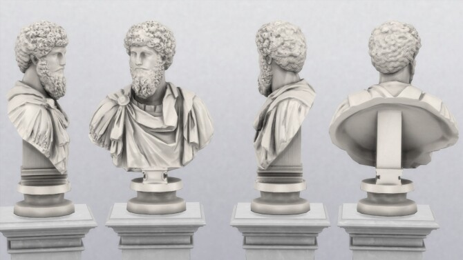 Bust of Lucius Verus by TheJim07 at Mod The Sims image 8621 670x377 Sims 4 Updates