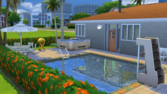 The Sun Valley Mid Century Modern Home by DominoPunkyHeart at Mod The Sims image 865 670x377 Sims 4 Updates
