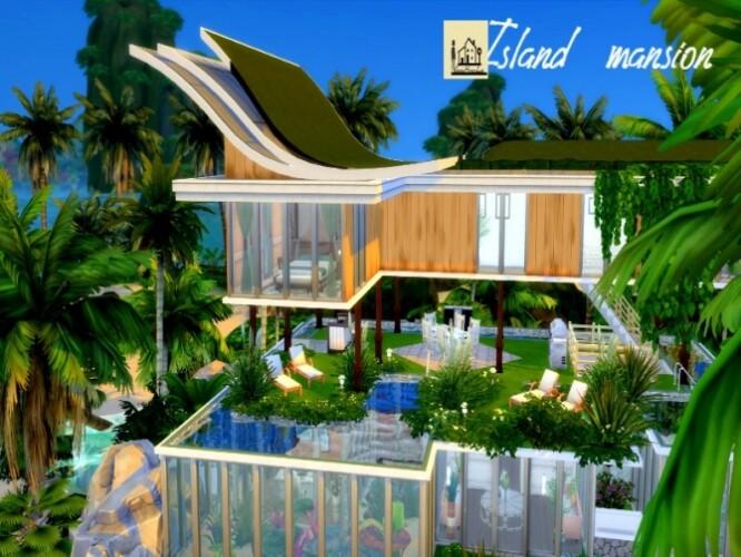 Island Mansion by GenkaiHaretsu