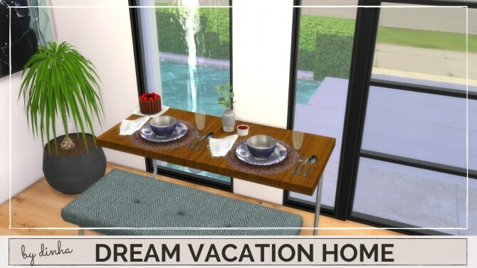 DREAM VACATION HOME at Dinha Gamer image 8723 670x377 Sims 4 Updates