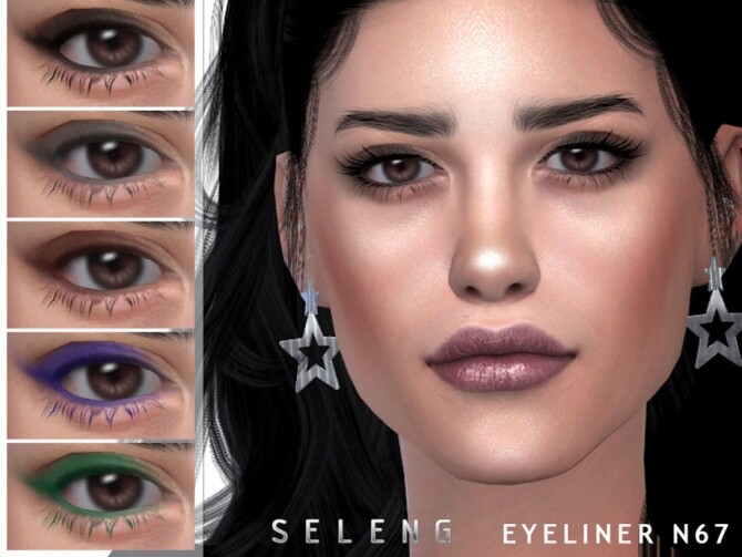 Eyeliner N67 by Seleng at TSR image 8811 670x503 Sims 4 Updates