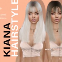 Kiana Hairstyle by Leah Lillith