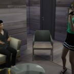 No Autonomous Sitting While Talking