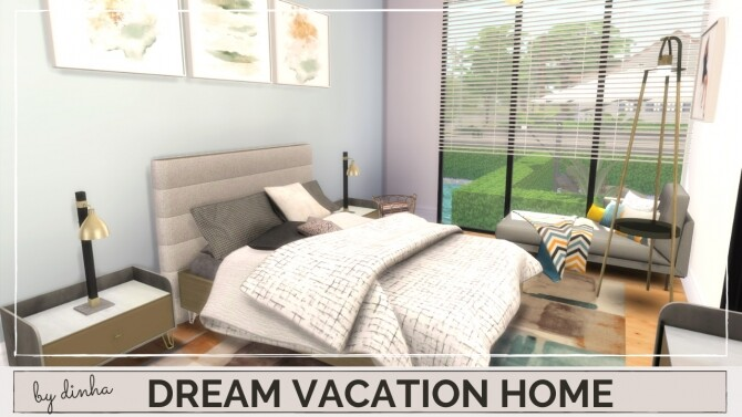 Sims 4 DREAM VACATION HOME at Dinha Gamer