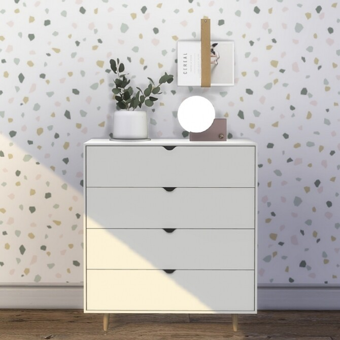 Sims 4 Mammen Dressers & some clutter at Heurrs