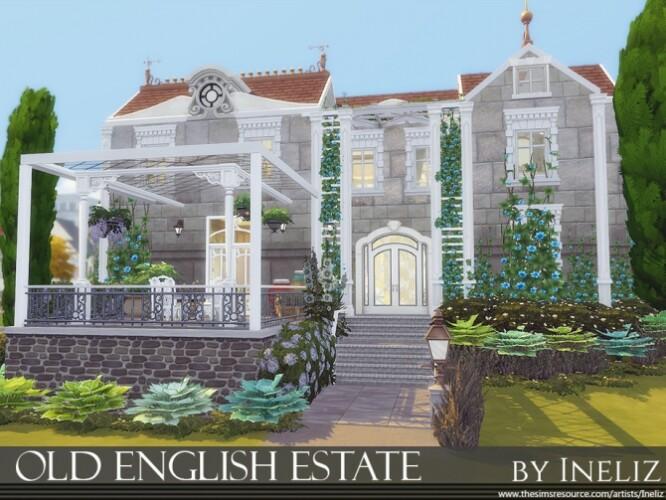 Old English Estate by Ineliz