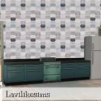 Elongated Tile by lavilikesims