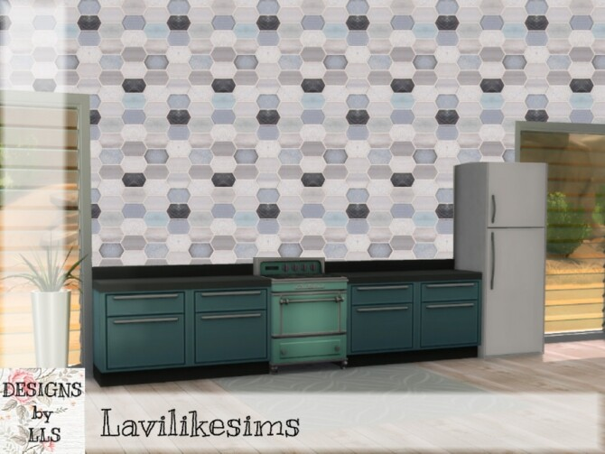 Elongated Tile by lavilikesims at TSR image 9022 670x503 Sims 4 Updates