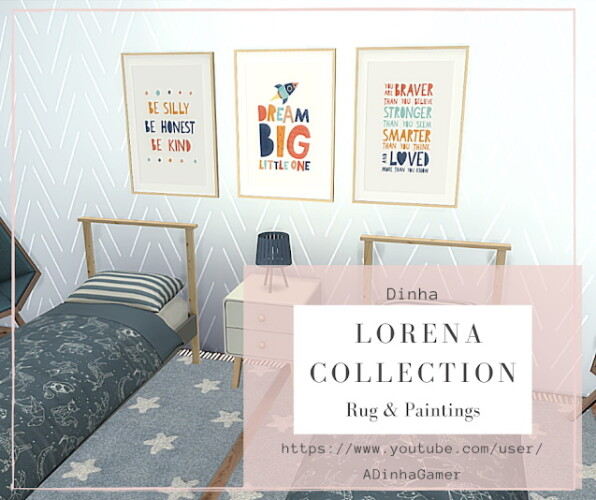 Lorena Collection Rugs Paintings
