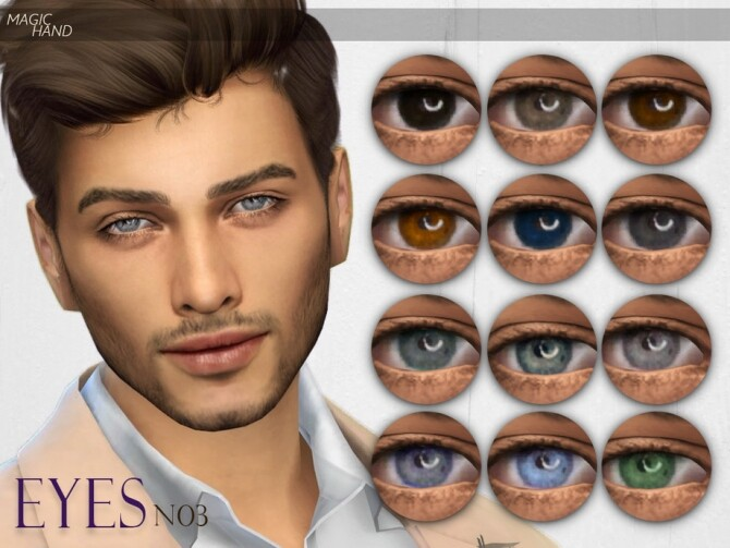Sims 4 Eyes N03 by MagicHand at TSR