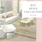 Beige Rugs Collection