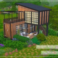 Modern Rustic Cabin Tiny House by Alenna