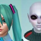 Alien Anime Style Eye Preset by tklarenbeek