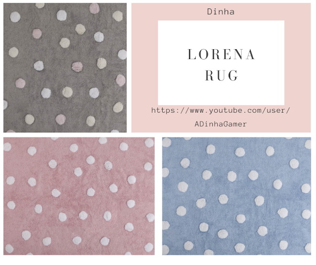 Sims 4 Lorena Collection: Rugs & Paintings at Dinha Gamer