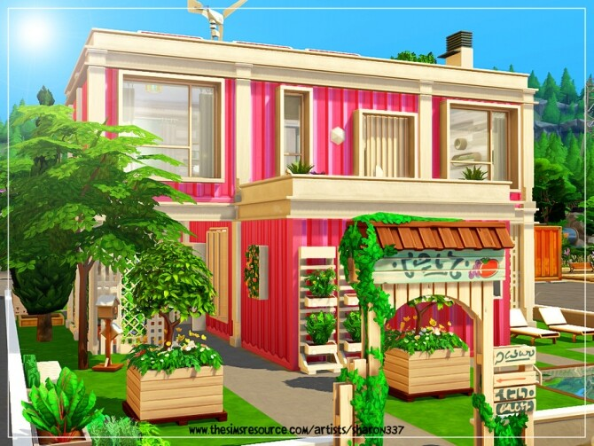 Sims 4 Container Living Nocc by sharon337 at TSR