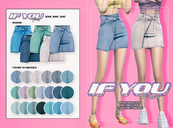 If You clothes set at NEWEN image 931 670x496 Sims 4 Updates